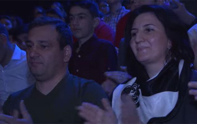 Polad Həşimov bir il əvvəl qızının iştirak etdiyi verilişdə - Video