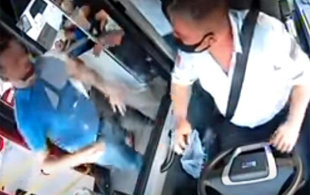 Maskaya görə sürücünü vuran sərnişin saxlanıldı