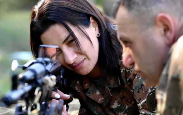 Paşinyanın xanımından Azərbaycana qarşı daha bir təxribat - Fotolar