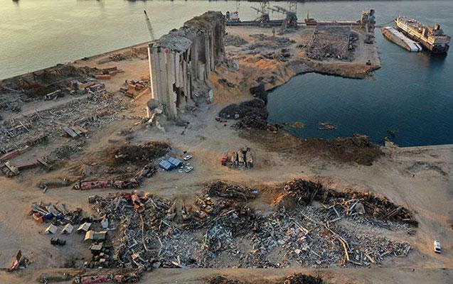 Beyrut limanında 4 tondan çox təhlükəli maddə tapıldı