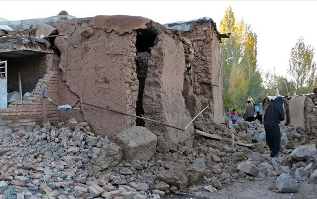 İranda güclü zəlzələ - 10 yaralı