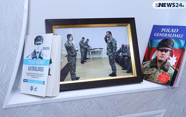 Ruhi Əliyeva Polad Həşimovun evində - Fotolar