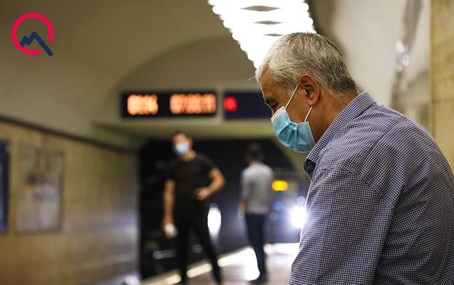 Metroda problem yarandı