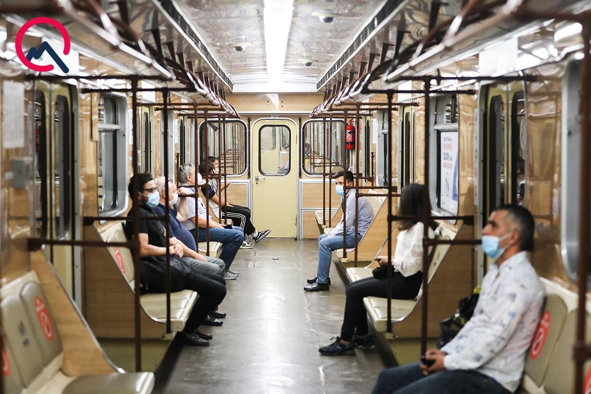 Bakı metrosu 72 gün sonra... - Fotosessiya