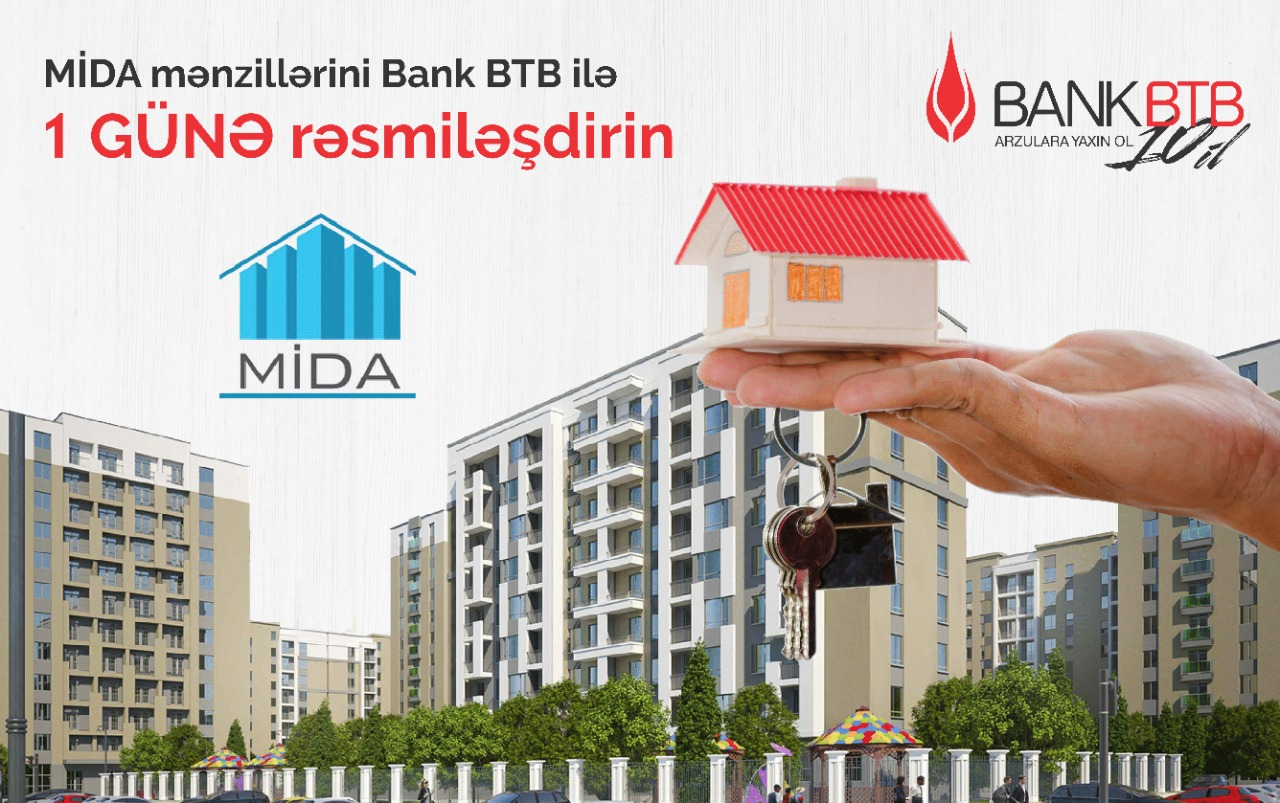 Bank BTB güzəştli mənzillərin kreditləşməsini həyata keçirir
