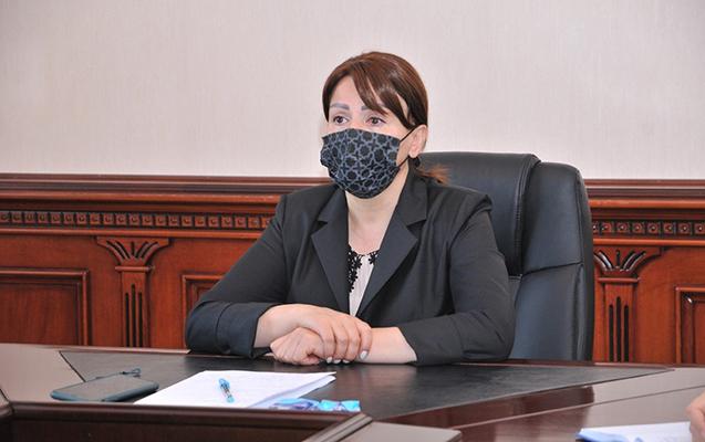 İradə Gülməmmədova bağça müdirləri ilə videokonfrans keçirdi
