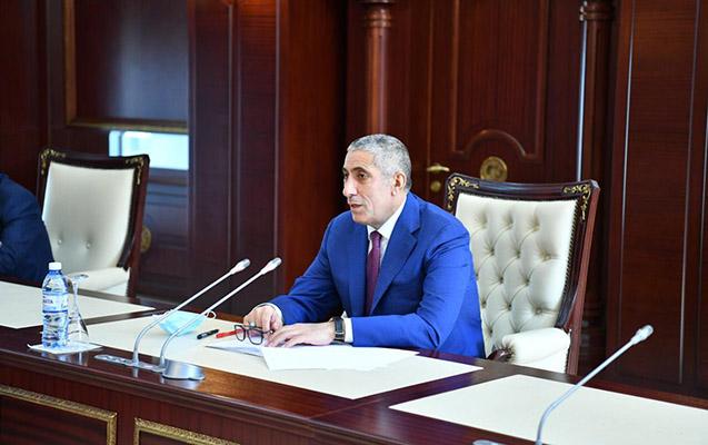 Siyavuş Novruzov hesabat verdi