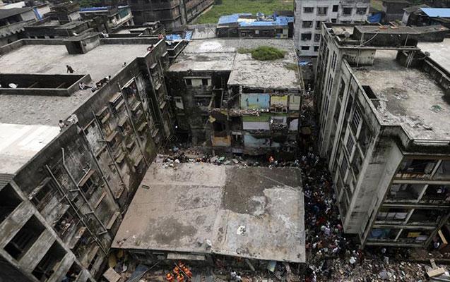 Hindistanda bina çökdü - 13 ölü, 11 yaralı