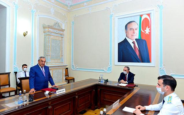 Baş prokuror Rüstəm Usubovla görüşdü