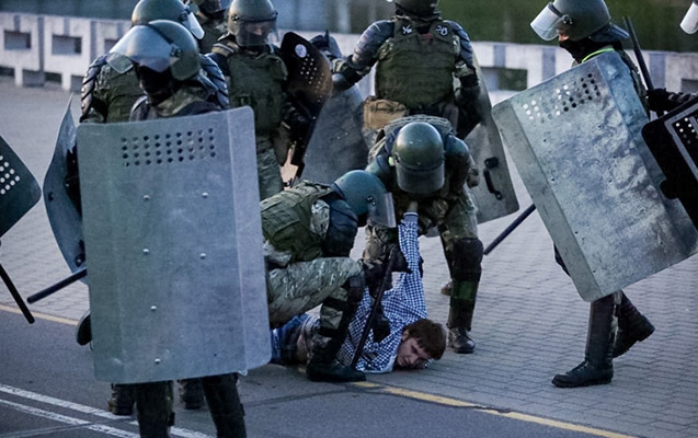 Belarusda gizli inauqurasiyadan sonra etirazlar başladı