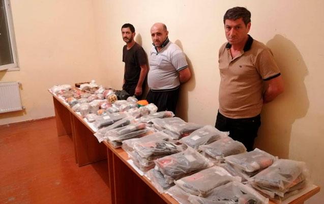 İrandan 84 kq narkotik keçirmək istədilər