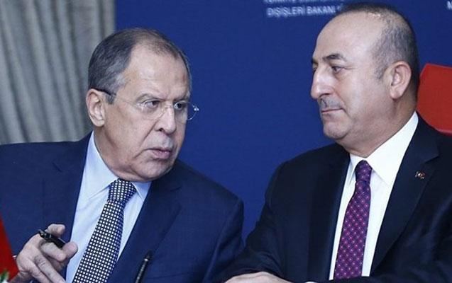 Çavuşoğlu ilə Lavrov cəbhədəki vəziyyəti müzakirə etdilər