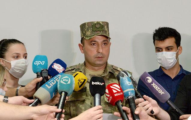 """""""Ordumuzun şəxsi heyətinin döyüş əzmi yüksəkdir"""""""
