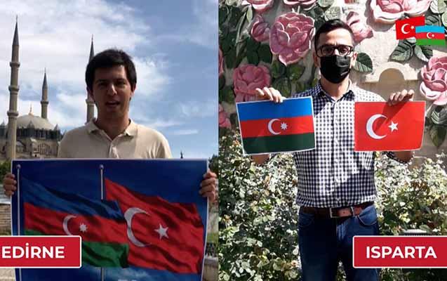 Türkiyə Gənclər Birliyindən Azərbaycana dəstək videosu