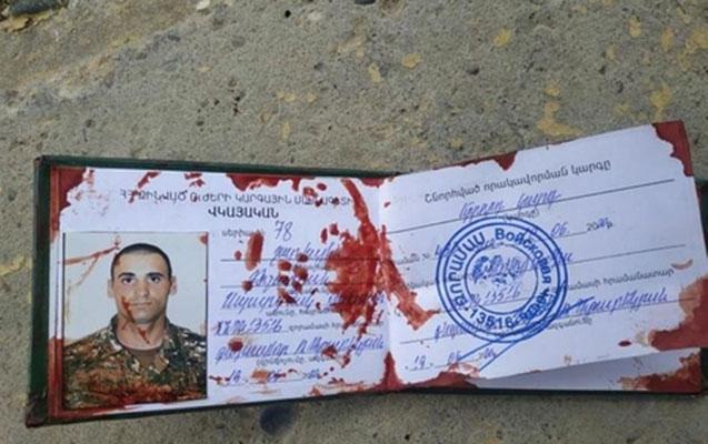 Ermənistan ordusunun daha bir zabiti məhv edilib