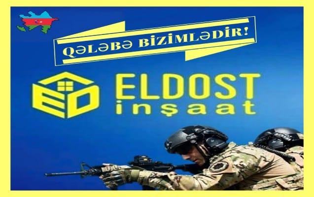 """""""Eldost İnşaat"""" da Silahlı Qüvvələrə yardım etdi"""