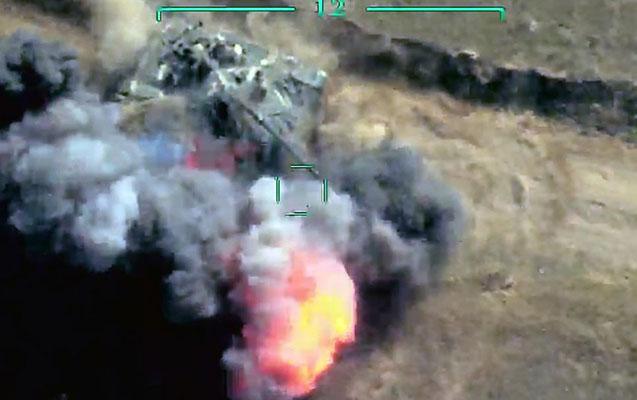 Tonaşendə düşmənin iki tankı məhv edildi