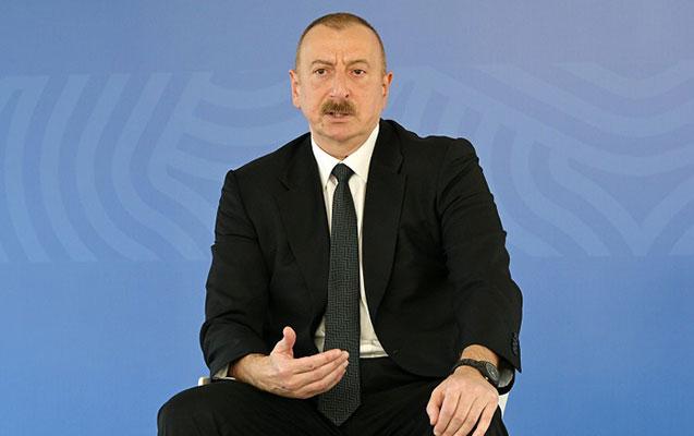 """""""Biz öz ləyaqətimizi müdafiə edirik"""" - İlham Əliyev"""