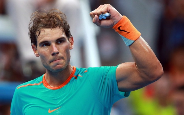 Nadal rekorda imza atdı