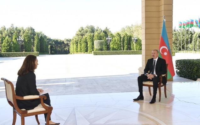 """Prezidentin """"France 24"""" televiziya kanalına müsahibəsinin tam mətni"""