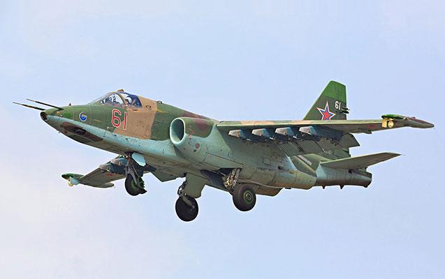 Bir saat əvvəl düşmənə məxsus Su-25 təyyarəsi məhv edildi
