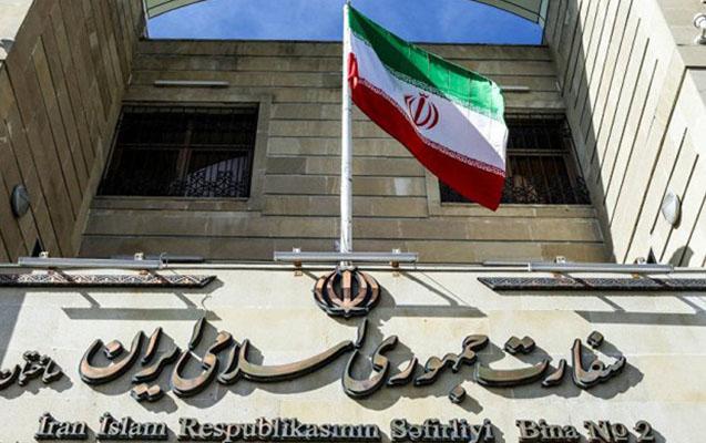 İran səfirliyi Ermənistanın Gəncəyə hücumunu pisləyir
