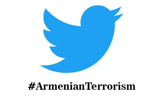 #ArmenianTerrorism həştəqi tvitterdə dünya üzrə 4-cü oldu