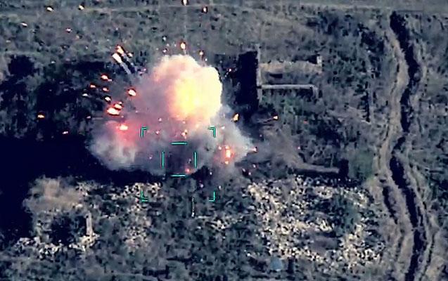 Düşmənin 3 tankı, 2 sığınacağı və dayaq məntəqələri məhv edildi