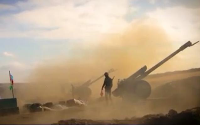 Artilleriya bölmələrimiz düşmənə sarsıdıcı zərbələr endirdi