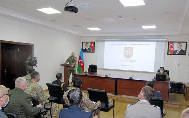 Beynəlxalq təşkilatlar Ermənistanın humanitar atəşkəsi pozması haqda məlumatlandırıldı