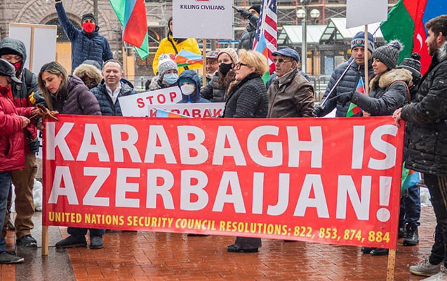 ABŞ-ın daha bir ştatında erməni terroruna etiraz