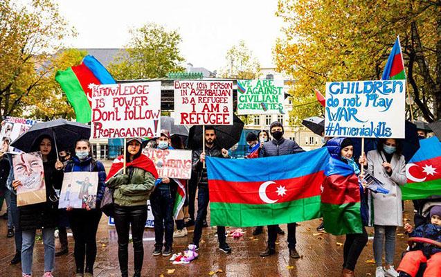 Lüksemburqda erməni terroruna etiraz
