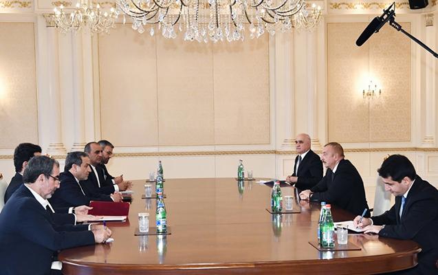 İlham Əliyev İran prezidentinin xüsusi nümayəndəsini qəbul etdi