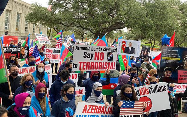 ABŞ-ın daha bir şəhərində erməni terroruna etiraz