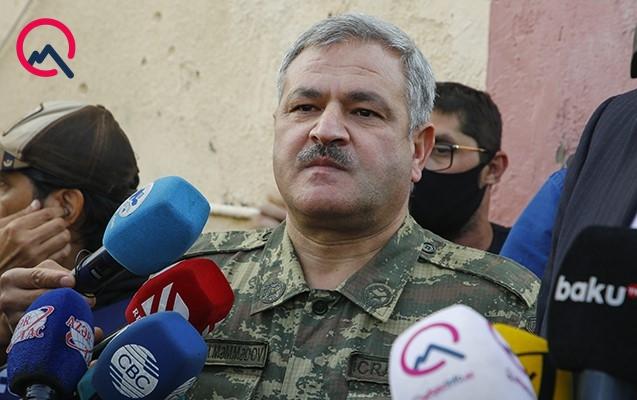 """""""DSMF-nin Tərtərdəki binası tamamilə dağılıb"""""""