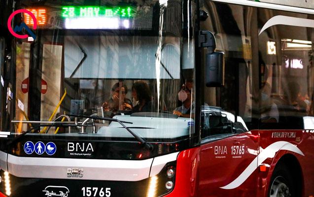 Bu avtobusların hərəkət sxemində dəyişiklik ediləcək