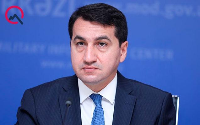 Hikmət Hacıyev Ukrayna Prezidenti Ofisinin rəhbərinin müavini ilə müzakirələr aparıb