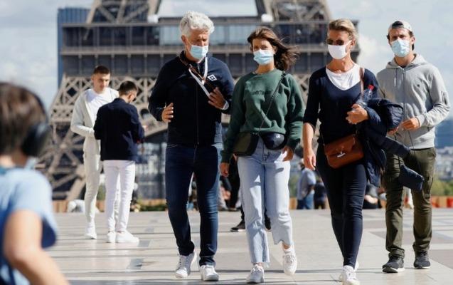 Fransada son sutkada 11 mindən çox yoluxma qeydə alındı