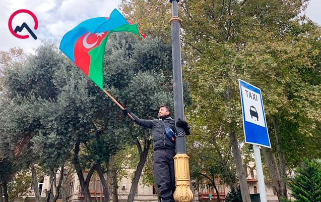 """""""Bakıda 5 hektarlıq sahədə """"Qəhrəmanlar parkı"""" yaradaq"""""""