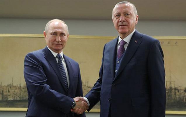 Ərdoğanla Putin bəyanatı müzakirə etdilər