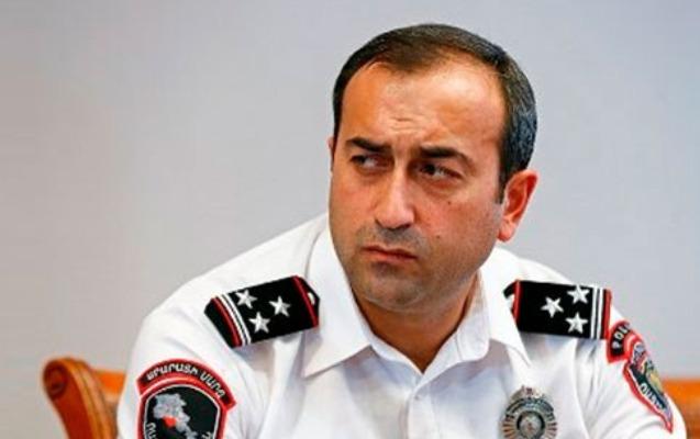 Yerevanın polis rəisi hökumətin əmrlərini yerinə yetirməkdən imtina edib