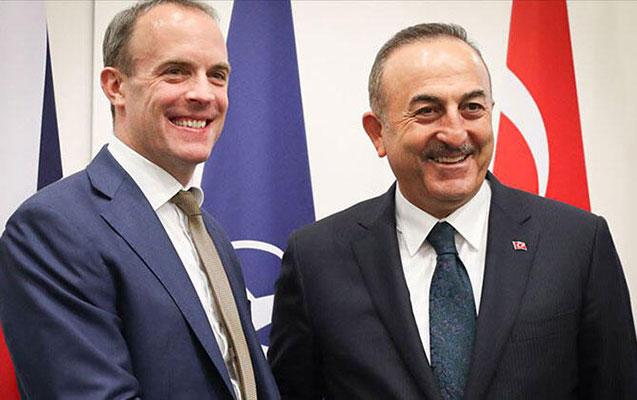 Çavuşoğlu britaniyalı həmkarı ilə Qarabağdan danışdı