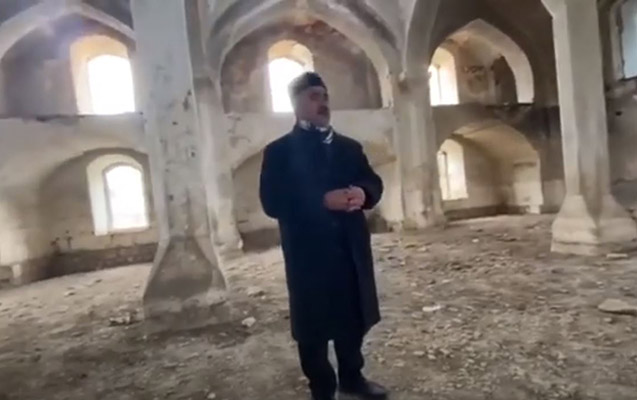 27 il sonra Ağdam məscidində ilk dua