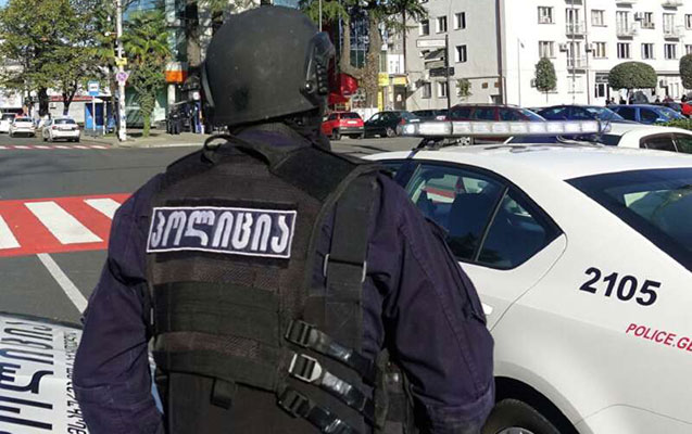 Tbilisidə insanları girov götürən şəxs saxlanıldı