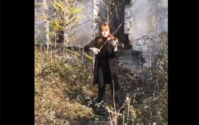 Füzulidən dünyaya musiqi ilə mesaj - Video