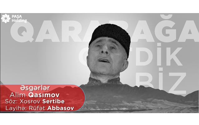 PAŞA Holding-in dəstəyi ilə Alim Qasımovdan yeni Qələbə mahnısı