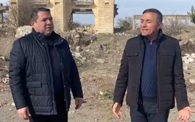 Ağdamlı xanəndələr 27 il sonra vətəndə oxudu - Video