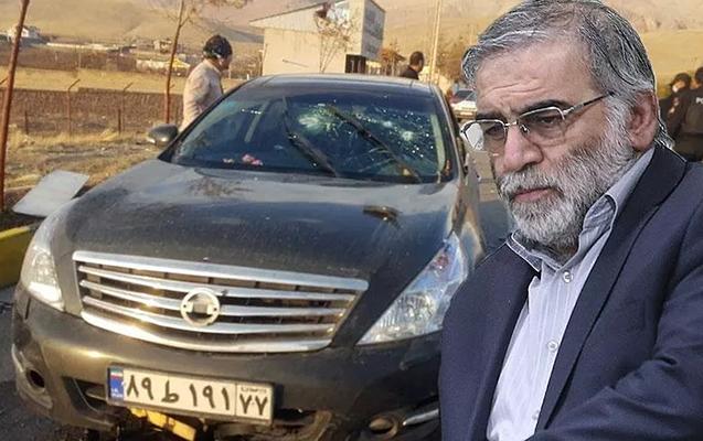 İranda nüvə aliminin öldürüldüyü yerdən