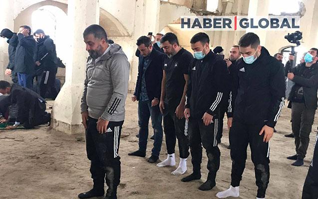 """""""Qarabağ""""ın futbolçuları Ağdamda"""
