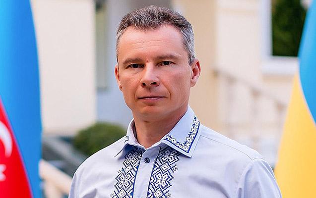 Ukraynanın Azərbaycandakı səfiri Qolodomordan yazdı
